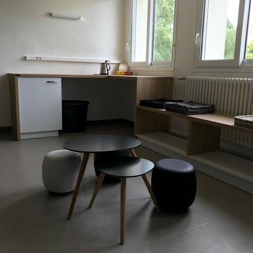 Aménagement d''un espace détente - Lycée St Ilan, Langueux