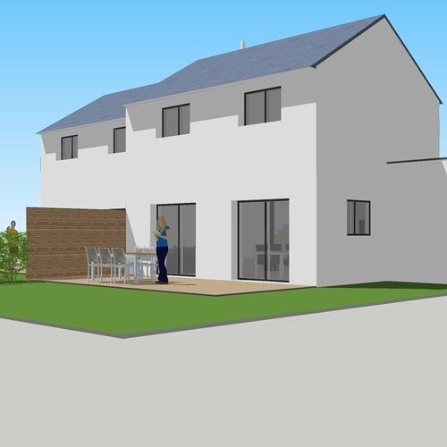 Construction de deux logements individuels sur une même parcelle