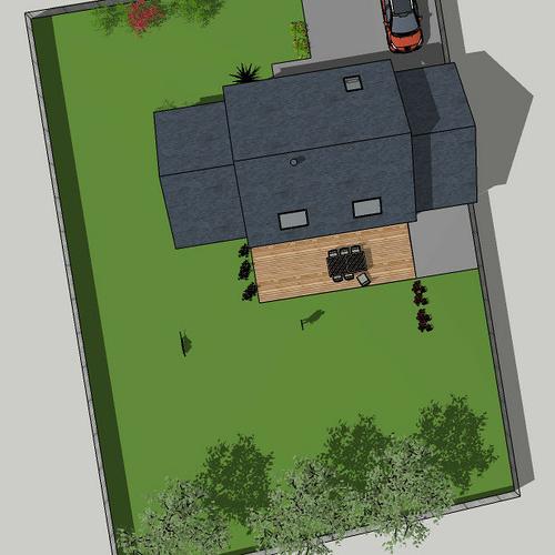 Construction maison d''habitation