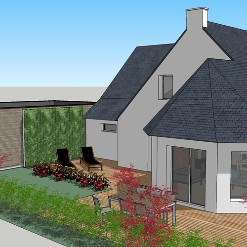 Extension d''habitation - Abri de jardin et carport