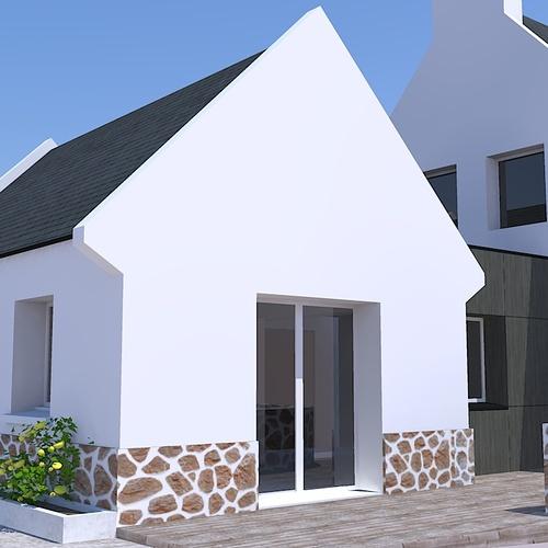 Extension d''une maison - Erquy