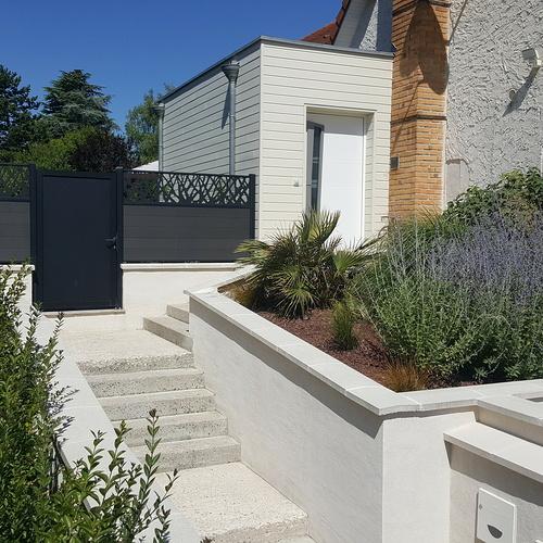 Extension d''une maison sur site classé ABF