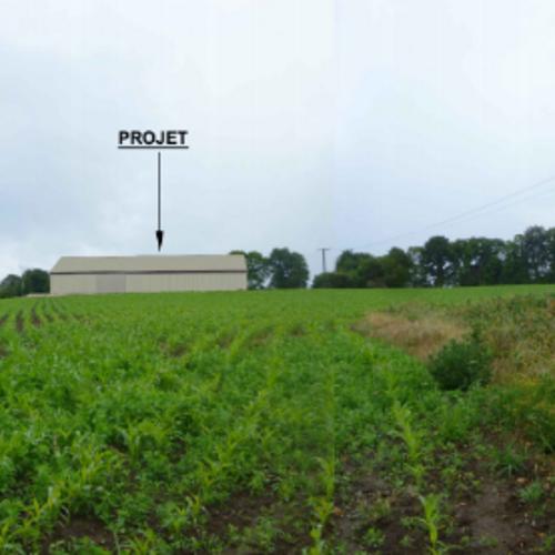 Projet construction d''un hangar agricole - Secteur Langonnet