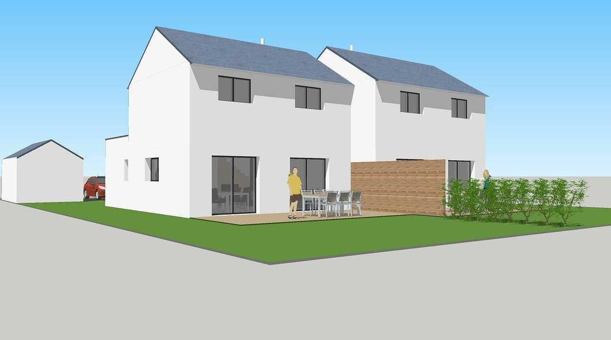 Construction de deux logements individuels sur une même parcelle v1-vue04