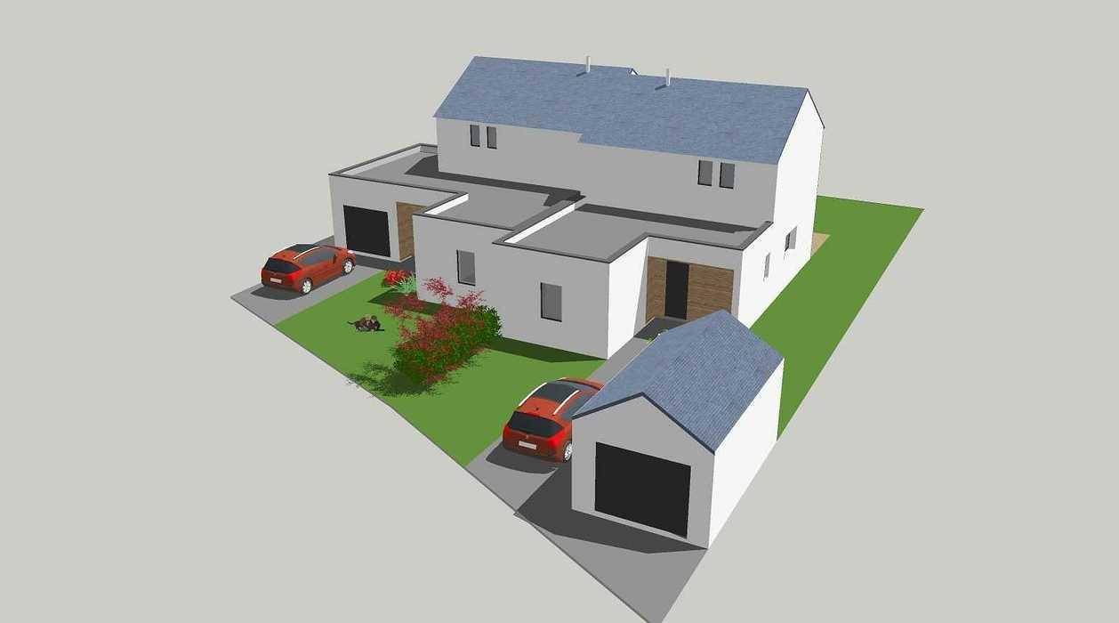 Construction de deux logements individuels sur une même parcelle v1-vue05