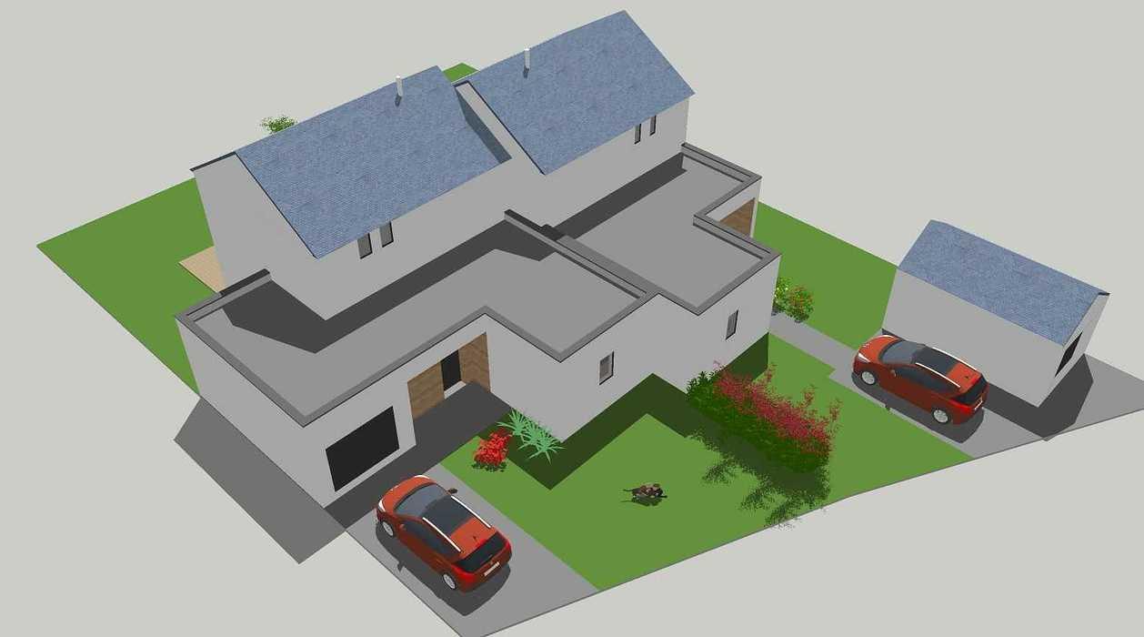 Construction de deux logements individuels sur une même parcelle v1-vue06