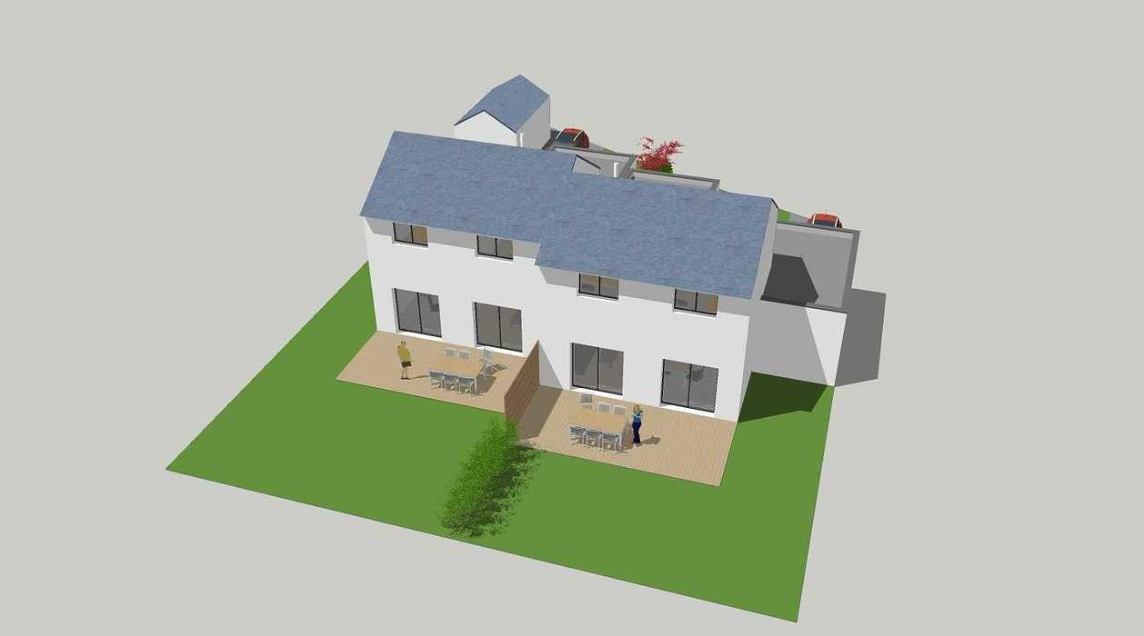 Construction de deux logements individuels sur une même parcelle v1-vue07
