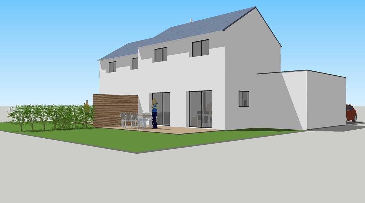 Construction de deux logements individuels sur une même parcelle 0