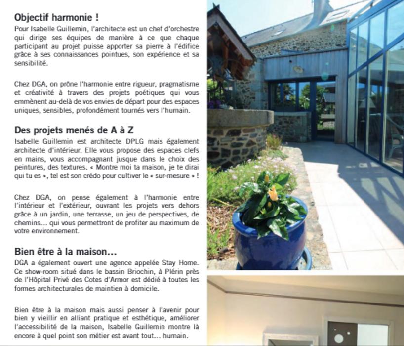 Un bel article dans le magazine Maison&Jardin / Edition Juillet - Août 2020 2
