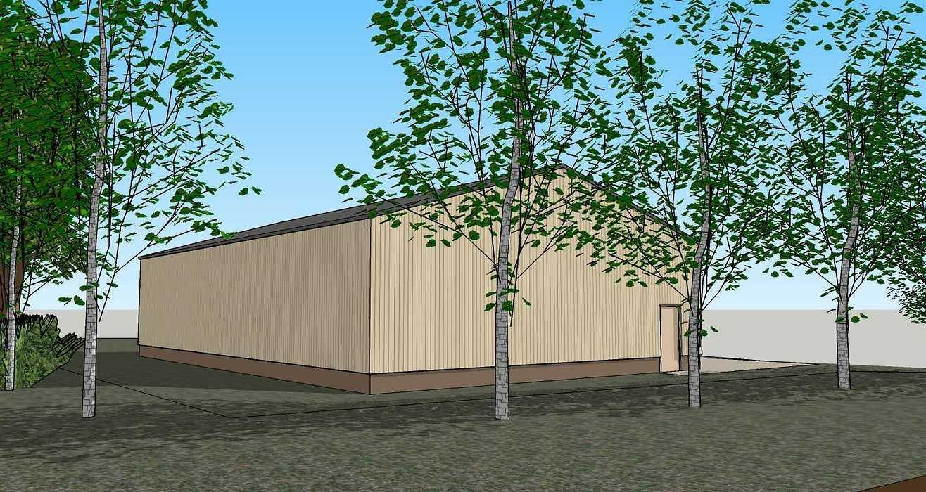 Construction d''un atelier d''entreposage - Bréhan (56) 200424231apd3d5