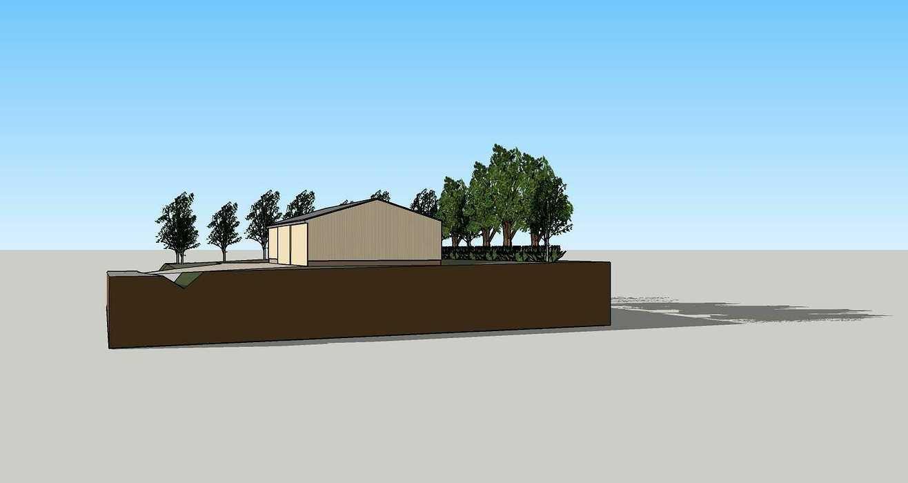 Construction d''un atelier d''entreposage - Bréhan (56) 200428231pcvueinte