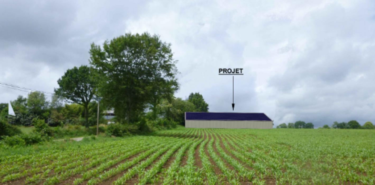 Projet construction d''un hangar agricole pour le stockage de fourrages et de matériel - Secteur Pennaneach screenshot2020-11-26agricole-googledrive2