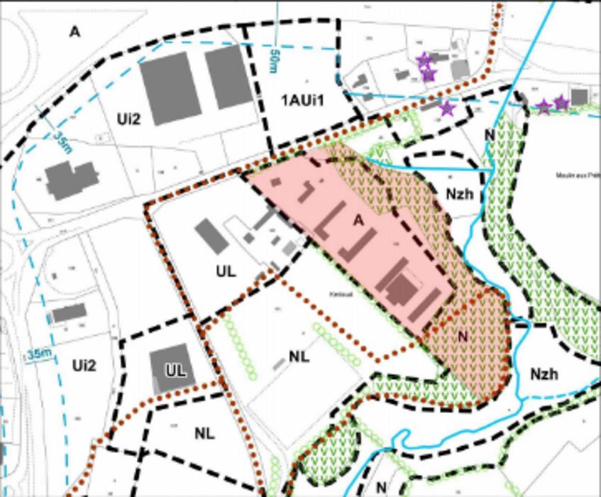 Construction d''un pôle d''insémination verraterie et démolition de bâtiments existants screenshot2020-12-11agricole-googledrive4