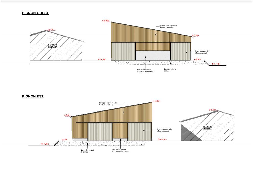 Construction étable à génisse + stock à fourrage - Spezet   screenshot2020-12-11agricole-googledrive2