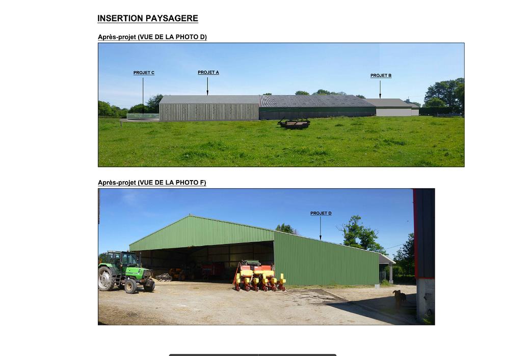 Construction étable vaches laitières / bloc de traite / fosse à lisier découvert - Secteur Scaer screenshot2020-12-11agricole-googledrive1