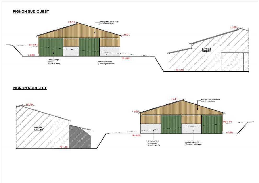 Construction étable génisses - Gouezec screenshot2020-12-11agricole-googledrive3