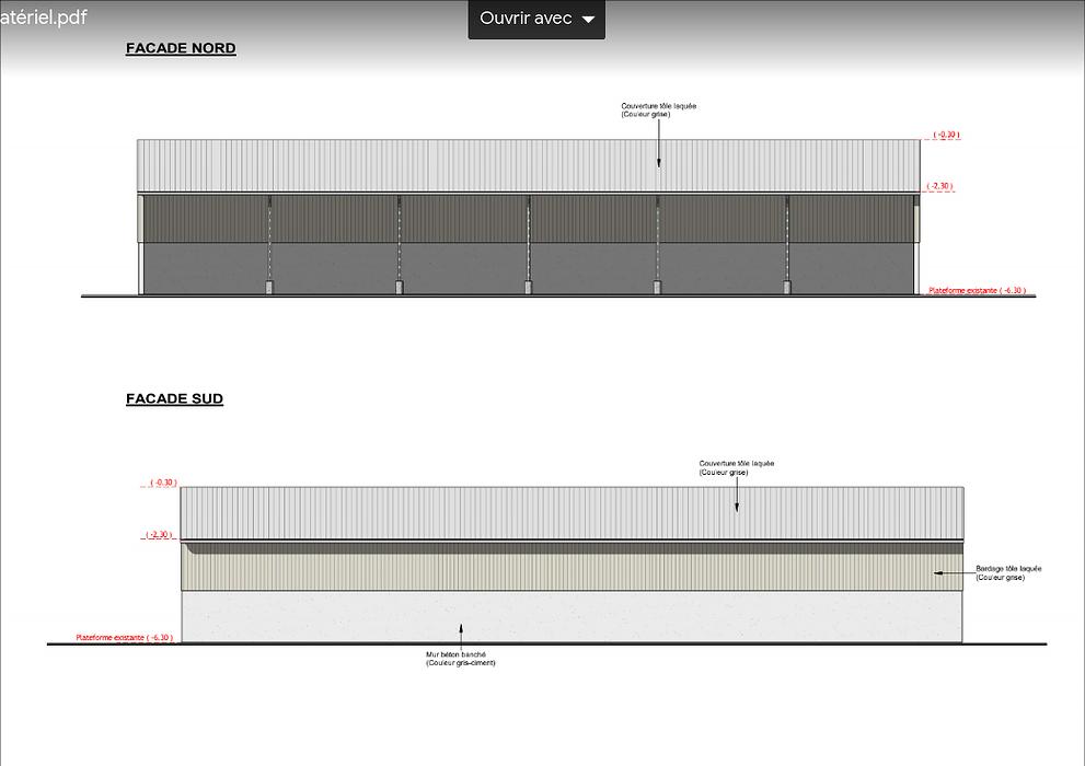 Construction hangar agricole stockage matériel- Secteur Spezet screenshot2020-12-11agricole-googledrive8