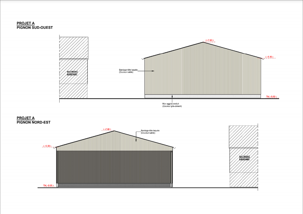 Construction hangar stockage fourrage - Secteur Priziac screenshot2020-12-11agricole-googledrive8