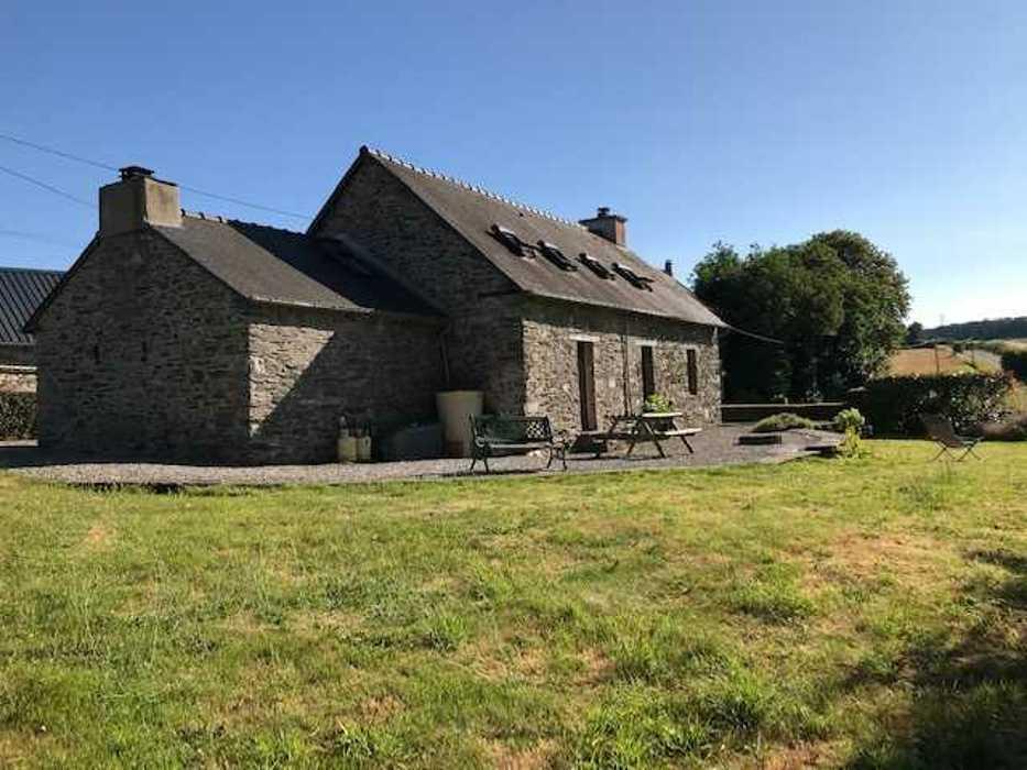 Extension habitation - commune de Guerlédan img0124