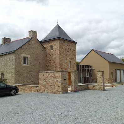 extension et renovation de maison
