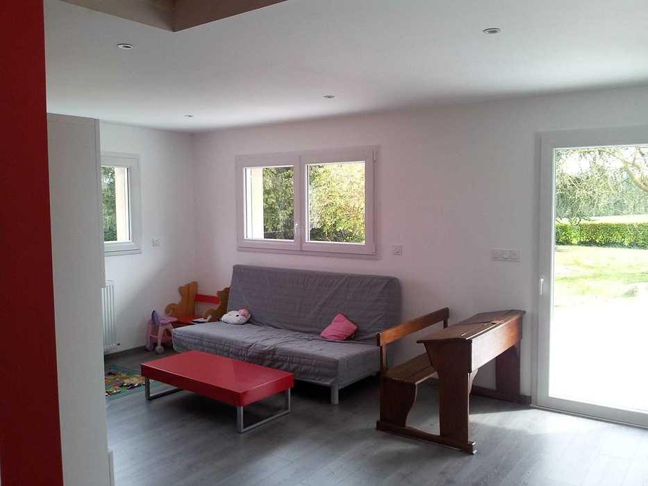 Projet d''extension d''une maison d''habitation g15