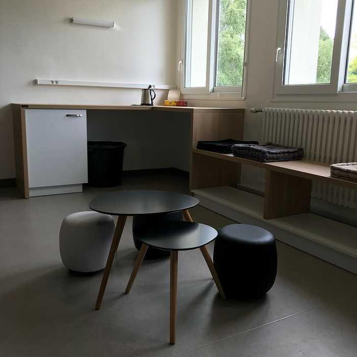 Aménagement d''un espace détente - Lycée St Ilan, Langueux 0