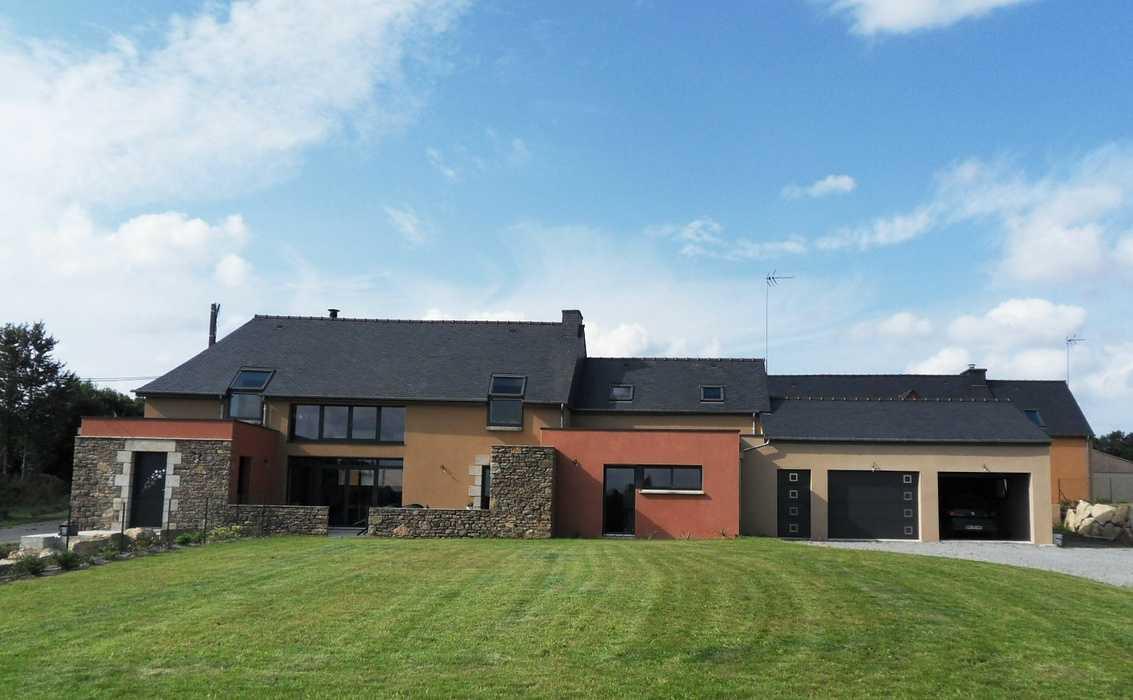 Rénover un Corps de ferme en maison d''habitation - Merdrigniac 0