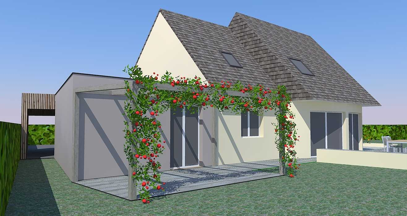 Extension d''une maison d''habitation à Binic 0