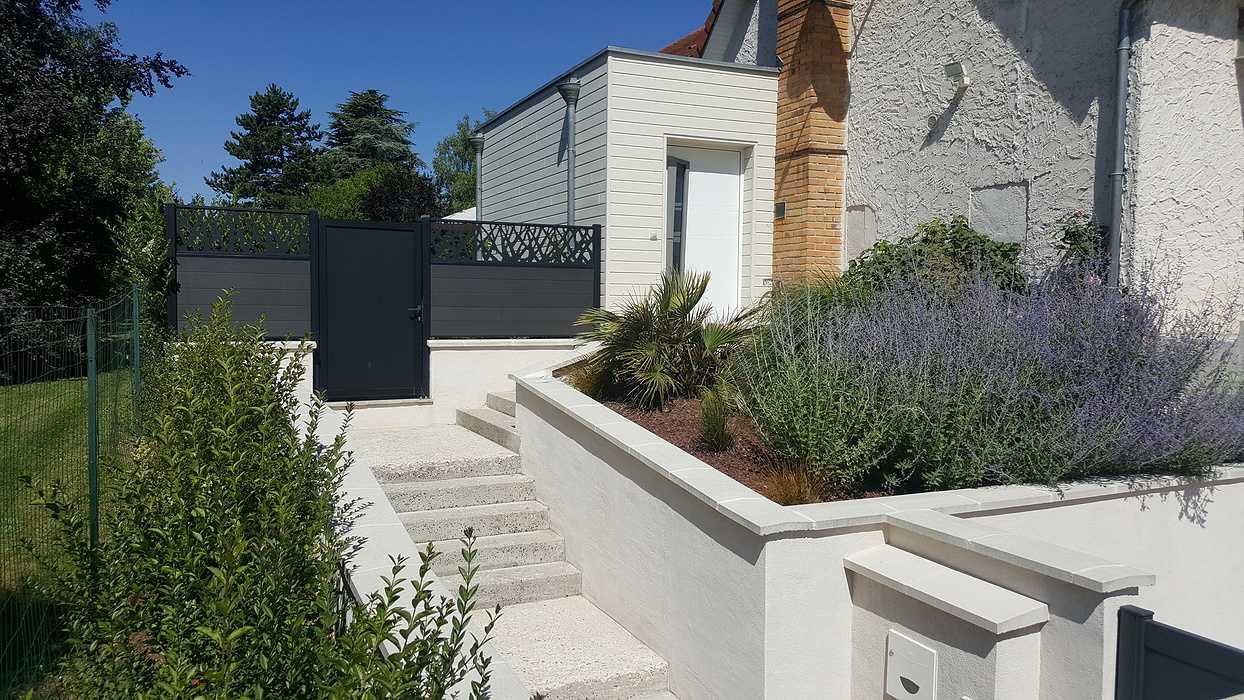 Extension d''une maison sur site classé ABF 0