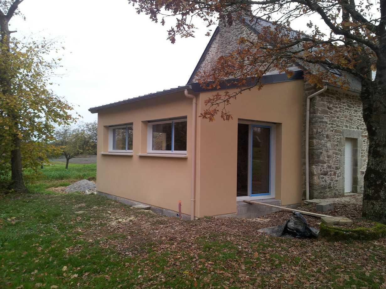 renovation - extension (agrandissement par la cuisine)