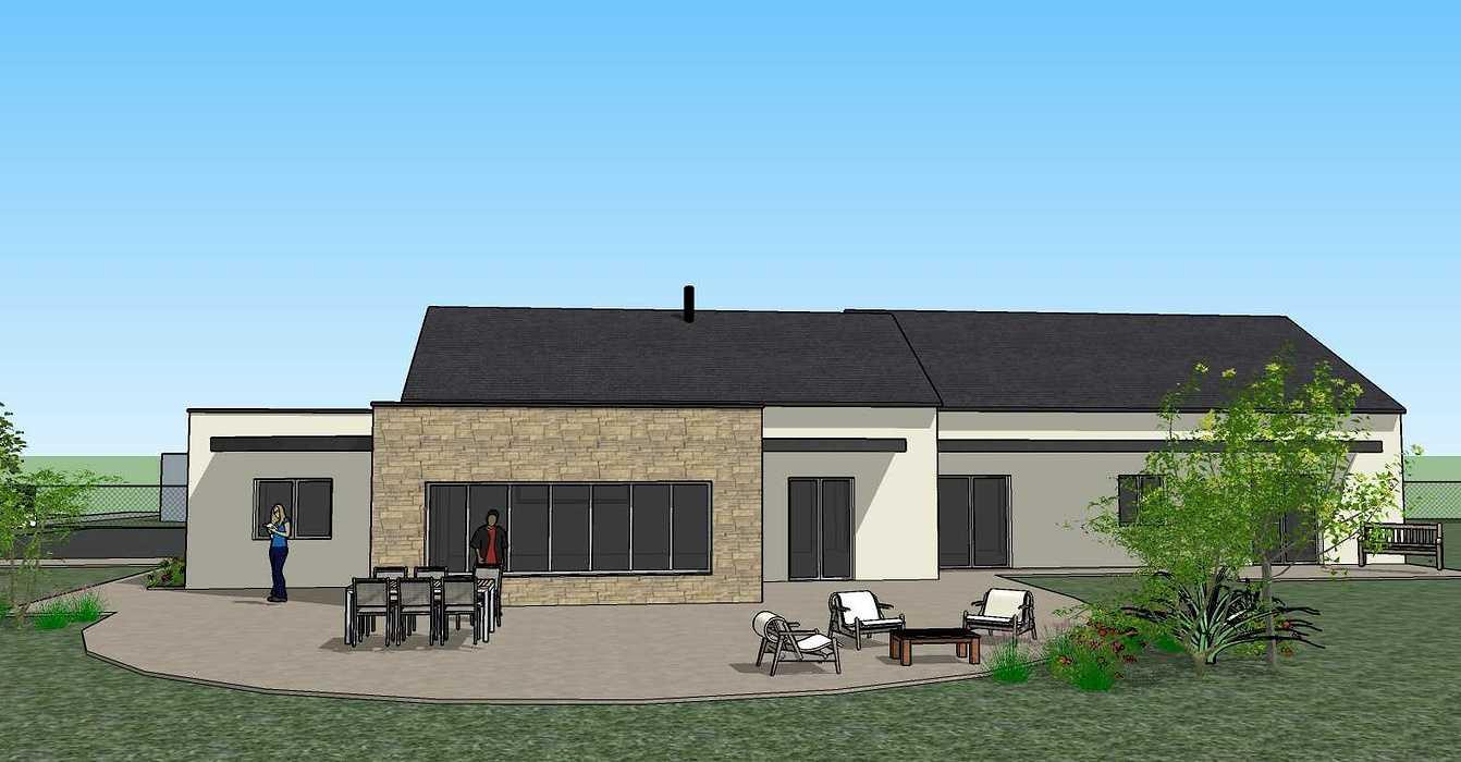 Création une maison d'habitation à Loudéac (22) Architecte : Isabelle Guillemin vue63d07.12.18