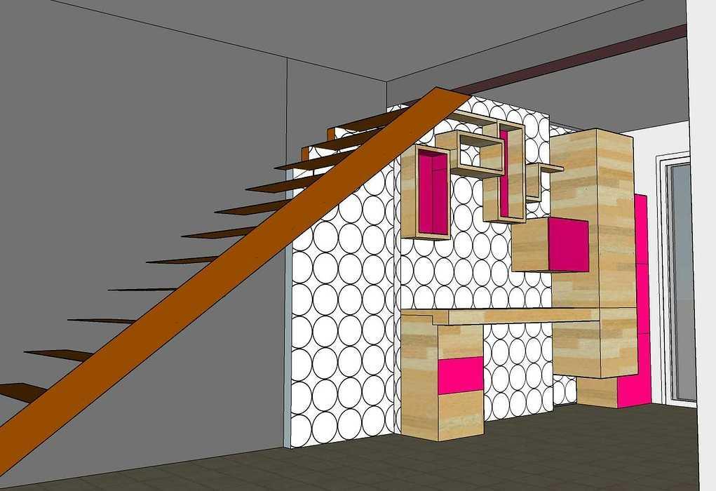 Architecture intérieure pour une maison contemporaine 3deonnet2