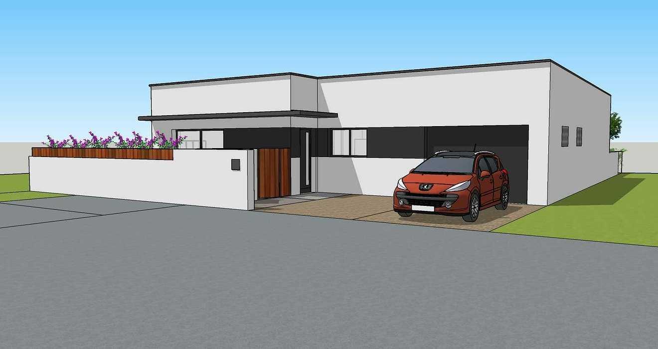 Création d''une maison d''habitation à Lamballe (22) 03apdvue2