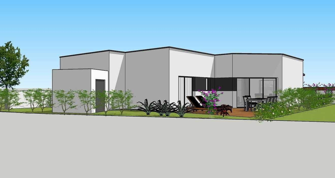 Création d''une maison d''habitation à Lamballe (22) 03apdvue3