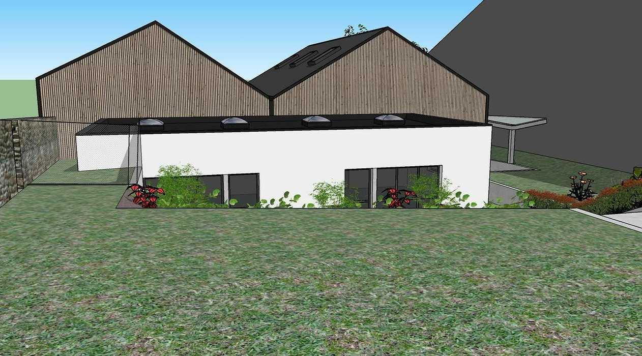 Construction d''un atelier mécanique au Lycée Saint-Ilan - Langueux (22) vue412.03.19