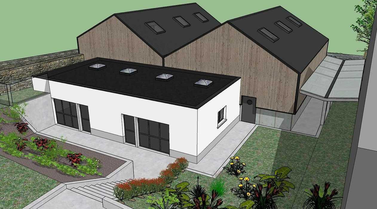 Construction d''un atelier mécanique au Lycée Saint-Ilan - Langueux (22) vue512.03.19