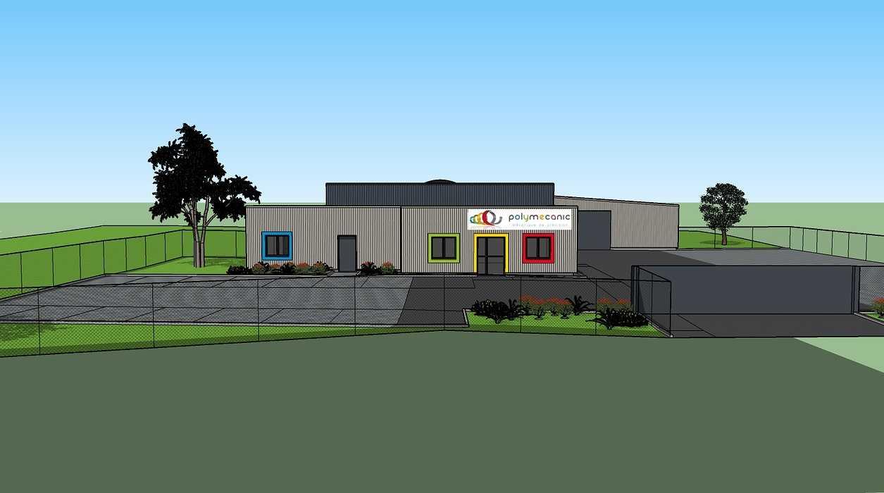Construction d''un bâtiment à Loudéac (22) 0